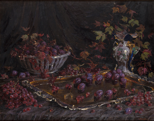 Olga Sergeevna Malyutina. Still life with fruit
