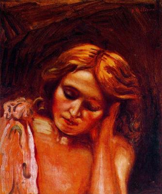 Giorgio de Chirico. Portrait of Isa
