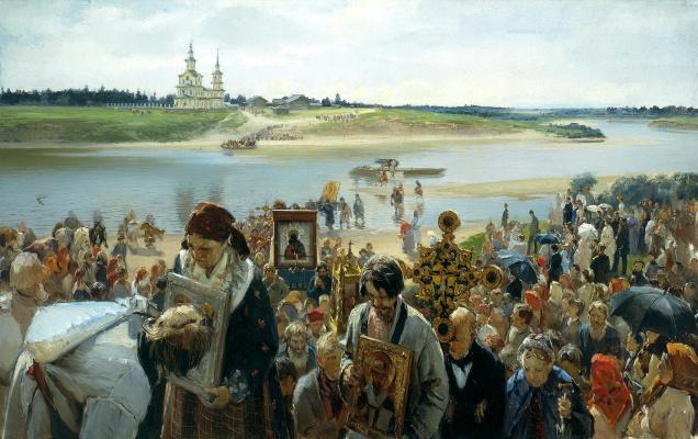 Илларион Михайлович Прянишников. Крестный ход