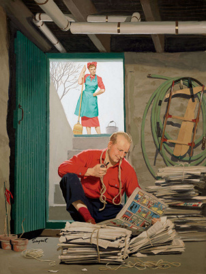 Richard Sargent. The man and the newspaper