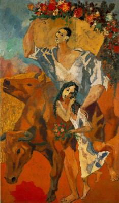 Пабло Пикассо. Крестьяне