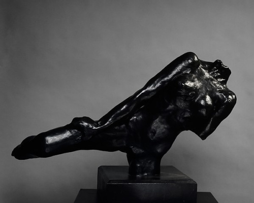 Auguste Rodin. The flying figure