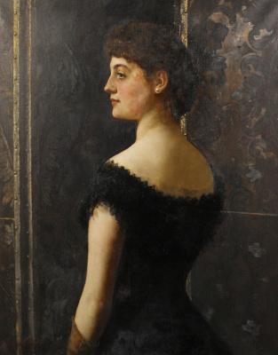 Джон Кольер. Портрет Лоры Мэри Стэплтон. 1882