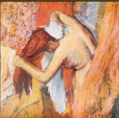 Эдгар Дега. Женщина, вытирающая волосы