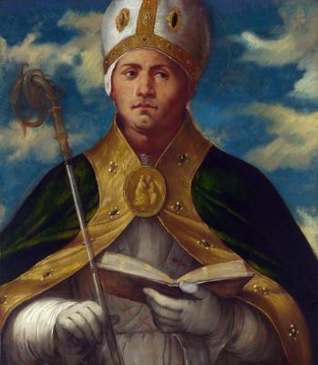 Girolamo Romanino. Holy Gaudioso