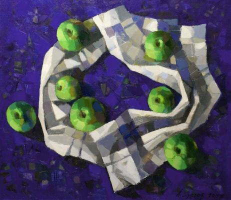 Andrey Anatolyevich Shustov. Apples washed