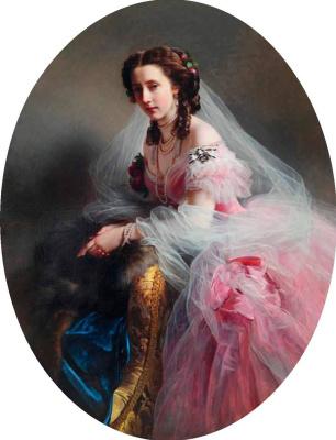 Franz Xaver Winterhalter. Princess Anna von Hessen (Maria Anna of Prussia)
