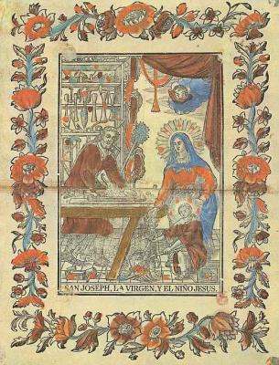 Бальтасар Таламантес. Святое семейство в плотницкой мастерской