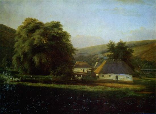 Nikolay Ivanovich Murashko. Ukrainian landscape