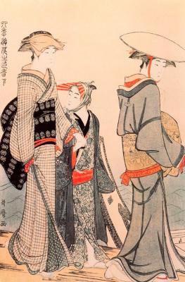 Kitagawa Utamaro. Communication