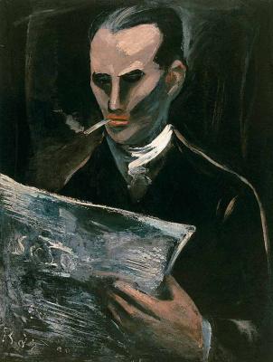 Rostislav Nikolaevich Barto. Reading a magazine