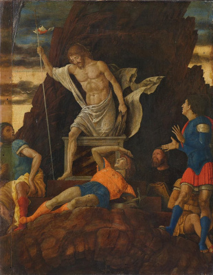 Andrea Mantegna. The Resurrection of Christ