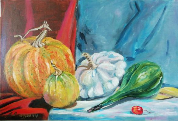Anna Akchurina. Pumpkin festival