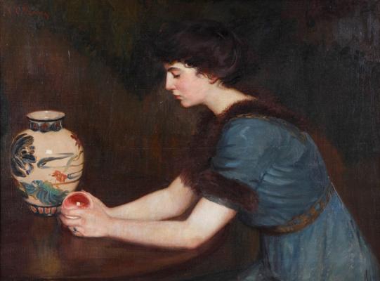 Lila Cabot Perry. Portrait Of Julia Sullivan Lynch