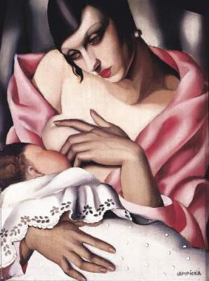 Тамара Лемпицка. Мать и дитя