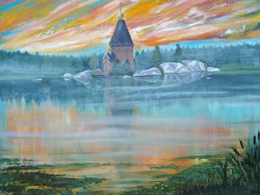 Larisa Sergeevna Tulupova. Temple of St. Andrew