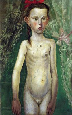 Otto Dix. Little girl