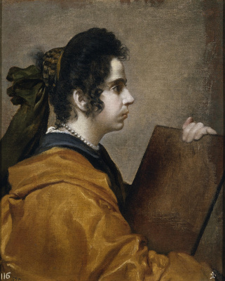 Diego Velazquez. Sibyl