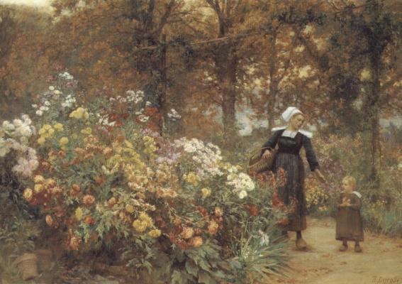Теофиль Луи Деуролл. Выбор цветов