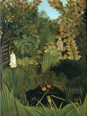 Henri Rousseau. Merry mischief-makers