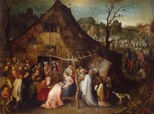 Jan Bruegel The Elder. Adoration of the Magi
