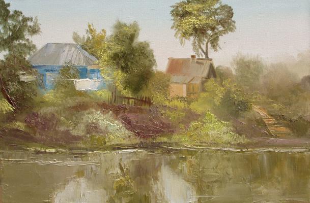 Elena Valyavina. Across the river