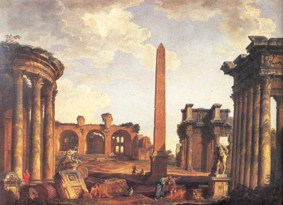 Giovanni Paolo Pannini. Plot 3