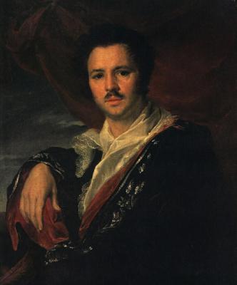 Vasily Andreevich Tropinin. Portrait of the artist Nikolay Apollonovich Maikov