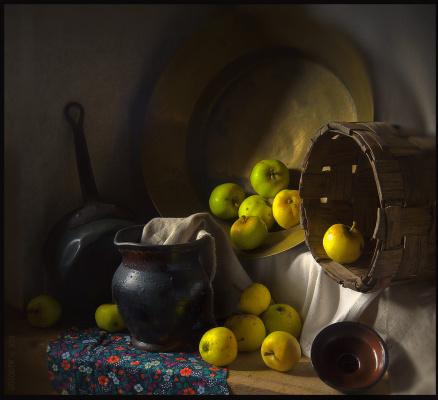 Evgeniy Borisovich Grigoriev. Sweet apples