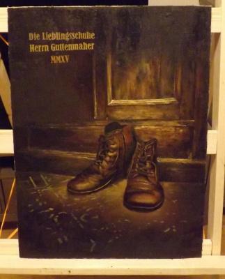 Ruslan Miranovich. Favorite shoes of Mr. Gutenmaher