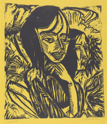 Ernst Ludwig Kirchner. Girls from Fermanagh