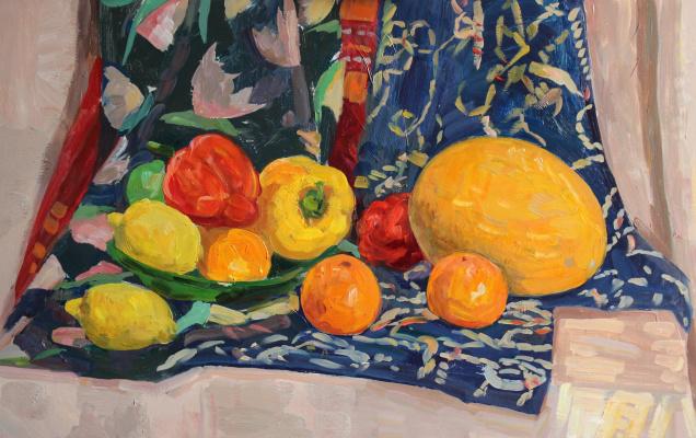 Eugene Alexandrovich Kazantsev. Still Life Fruits.