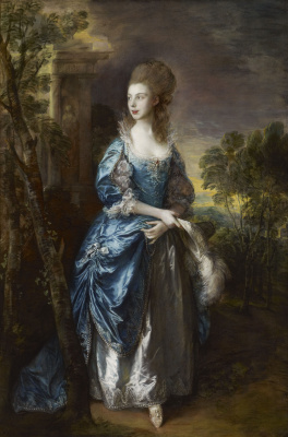 Thomas Gainsborough. The Honourable Francis Duncomb