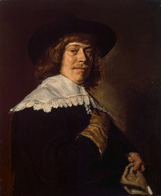Франс Хальс. Портрет молодого человека с перчаткой