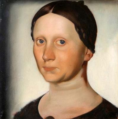 Василий Иванович Шухаев. Портрет жены В. Ф. Шухаевой