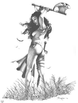 Джерри Бингам. Авалон026 - Злобные девы1