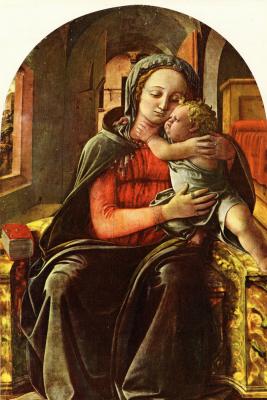 Фра Филиппо Липпи. Мадонна с младенцем