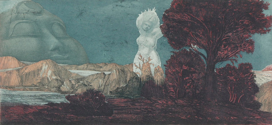 Ernst Fuchs. Plot 29