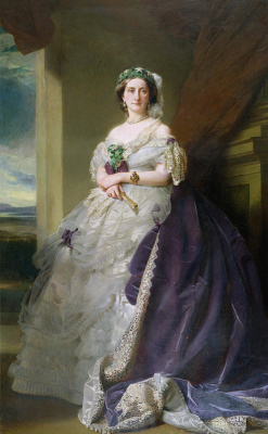 Franz Xaver Winterhalter. Portrait of Julia Louise Bosville, lady Middleton