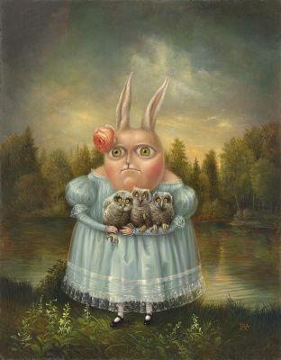 Irena Aizen. Owl-fancier. Fine Art Prints