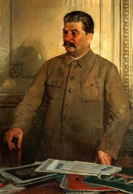 Исаак Израилевич Бродский. Портрет И.В.Сталина