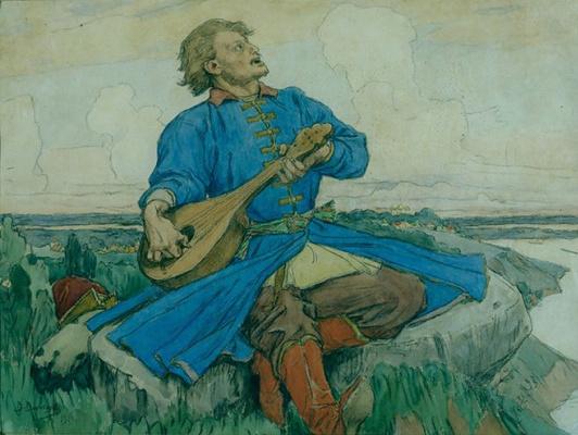 Victor Mikhailovich Vasnetsov. Sadko
