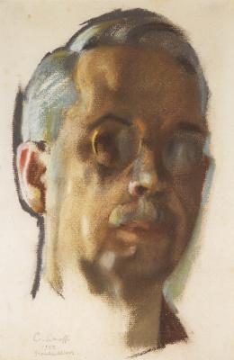 Constantin Somov. Self-portrait