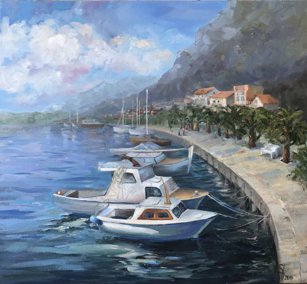 Natalia Shlyakhova. Morning in Croatia