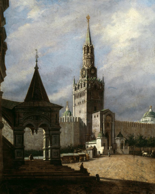 Stepan Mikhailovich Shukhvostov. View of Red Square