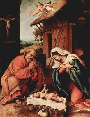 Lorenzo Lotto. Christmas