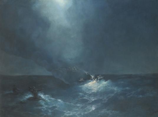 Ivan Aivazovsky. The Birth Of Venus