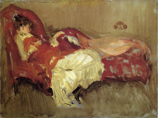 James Abbot McNeill Whistler. Note in red: the Siesta