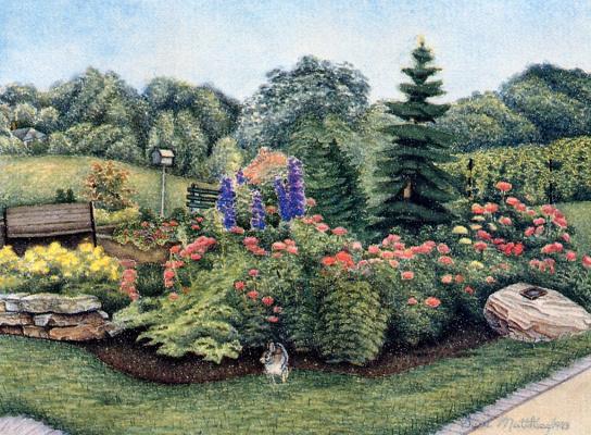 Сьюзи Маттиас. В саду