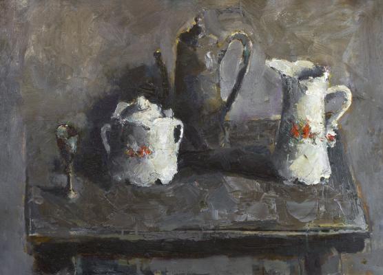 Igor Nikolaevich Ermolaev. Gray still life